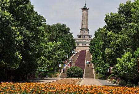 长沙烈士公园   深秋十月到长沙烈士公园看桂花的好去处 ...