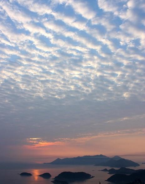 中国最美的滩涂霞浦县观日出日落