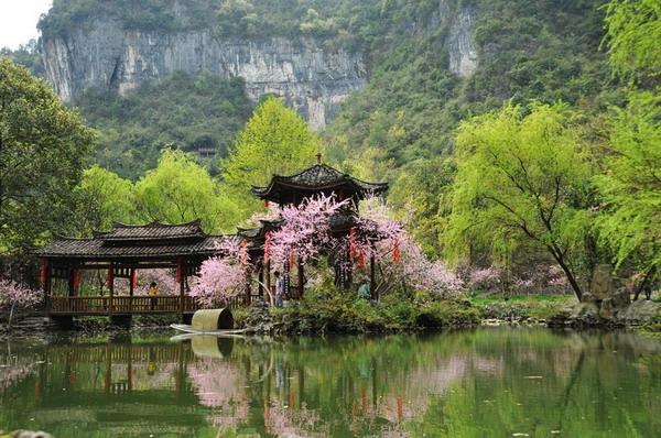 长沙到重庆酉阳桃花源、龚滩古镇、阿依河、乌