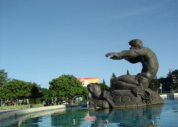 北海南珠魂城雕
