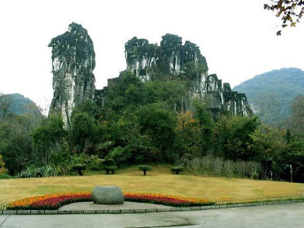 桂林七星公园图片
