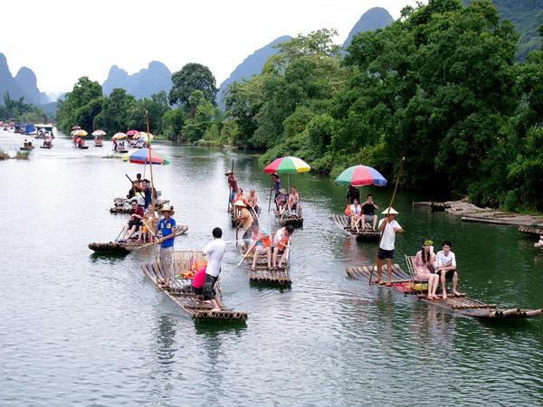遇龙河竹筏漂流