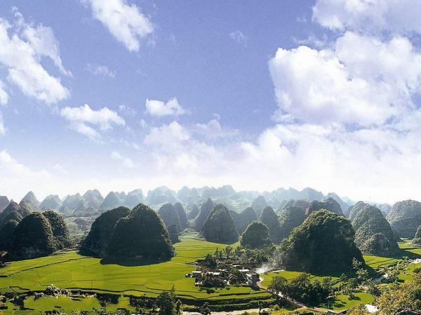 [赏美观景]长沙到贵州黄果树瀑布、万峰林、马岭河峡谷、荔波小七孔、西江千