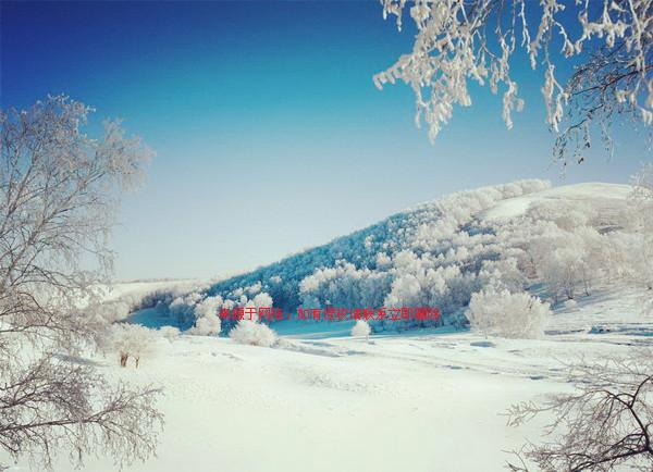 林海雪原风景区