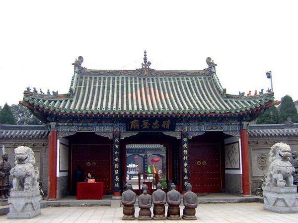 朱仙镇岳飞庙历史记载   统一称为全国四大岳飞庙,享誉中外...