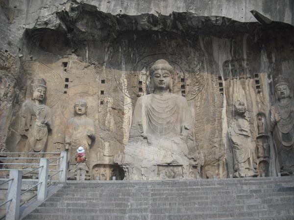 龙门石窟的传说故事