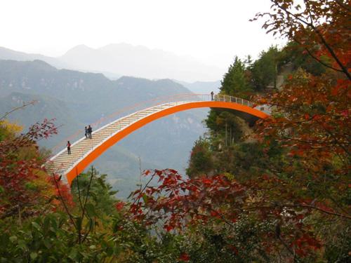 神农架天生桥图片