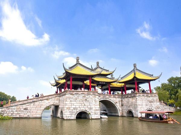 扬州瘦西图片