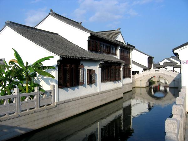 苏州甪直古镇图片