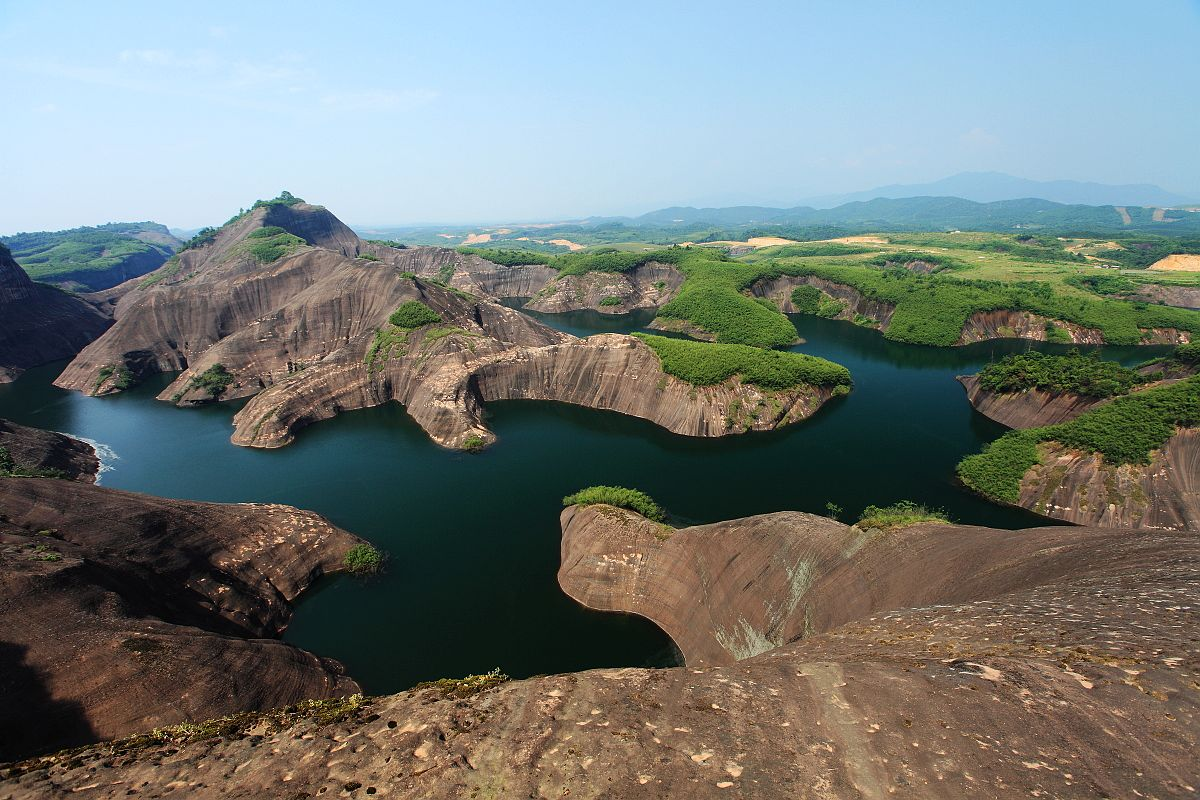长沙到郴州东江湖凤凰岛、高椅岭、永兴银楼、板梁古村二日游