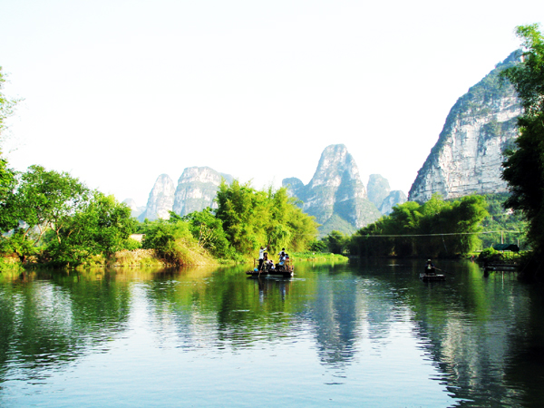 (花千骨之仙旅奇缘)从长沙到广西通灵大峡谷、德天跨国瀑布-边境南宁高铁四日游