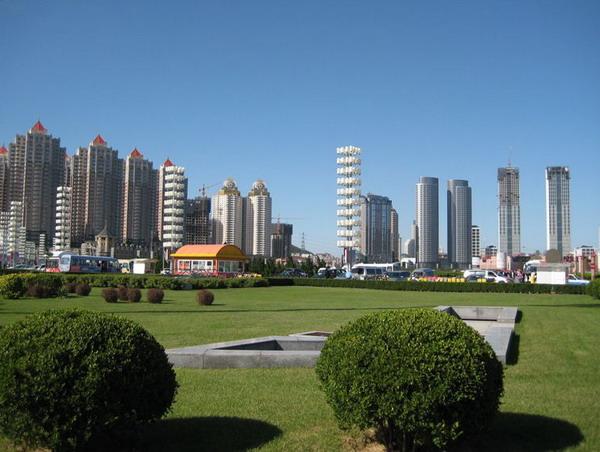 大连星海湾广场图片