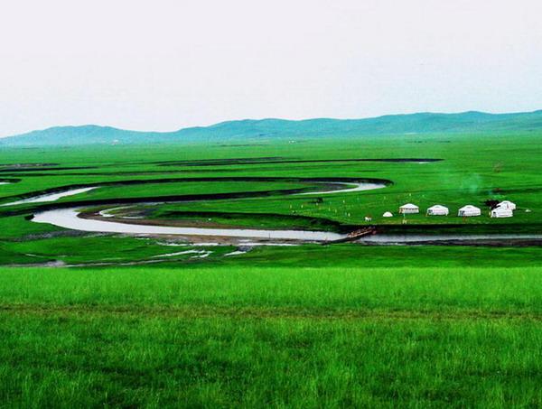 呼伦贝尔草原图片