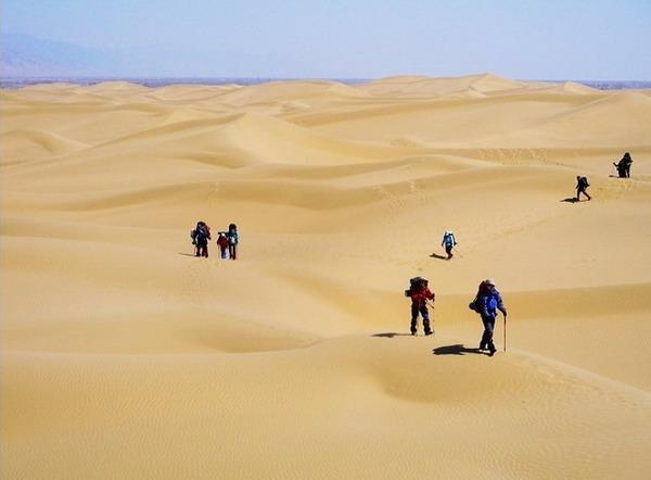 库布其沙漠图片
