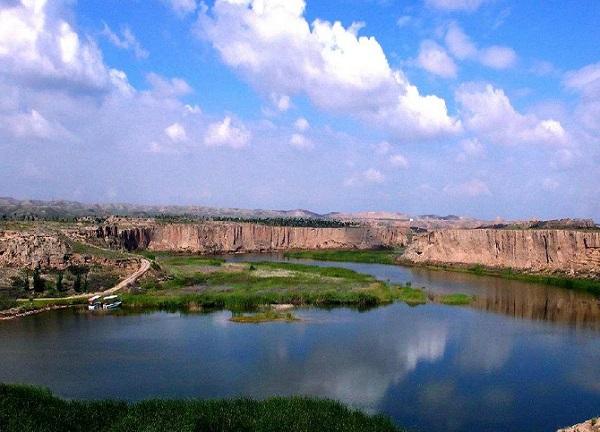 宁夏银川水洞沟图片