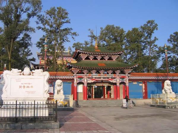 赞普林卡藏文化展览馆