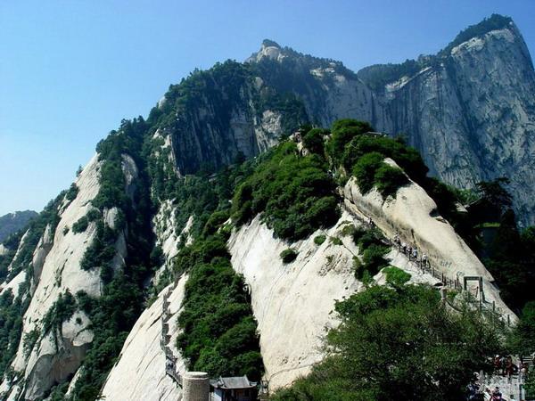 西岳华山图片