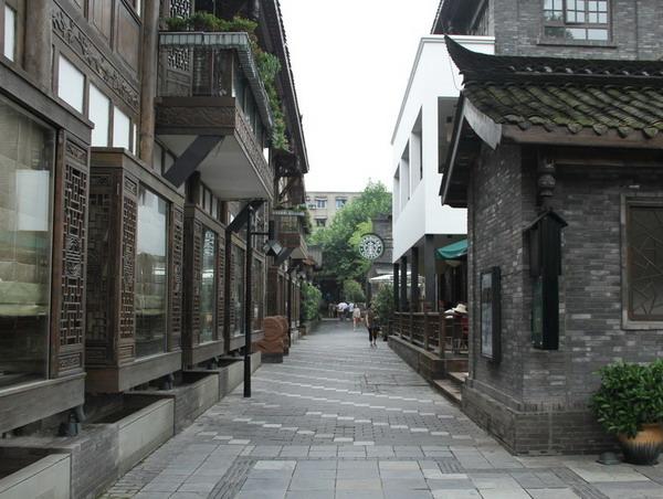 成都宽窄巷子