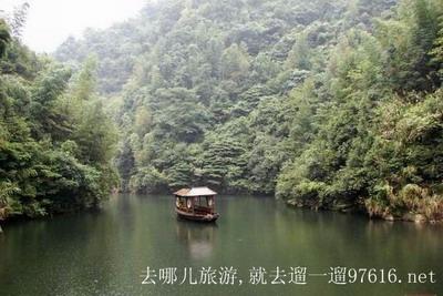 湖南周洛大峡谷风景图片