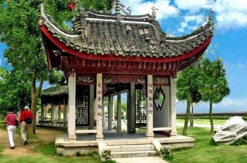 湖南岳阳君山岛风景图片