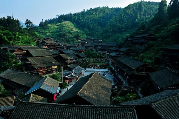 长沙到怀化靖州地笋苗寨(爸爸去哪儿拍摄地)、黔阳古城二日游亲子活动旅游团