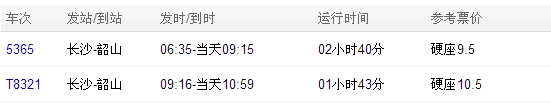 长沙到韶山的火车_长沙到韶山火车时刻表