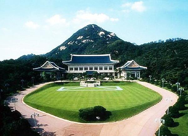 韩国青瓦台