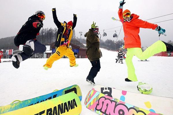 【冬恋韩国】长沙到韩国首尔、济州温泉滑雪直
