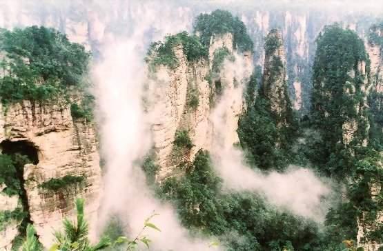 张家界黄石寨的传说