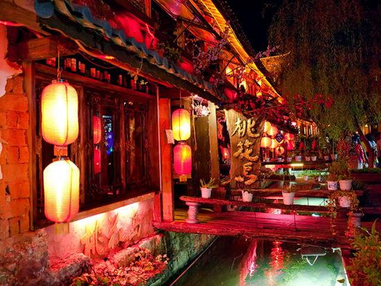 丽江酒吧一条街在哪?丽江古城酒吧一条街