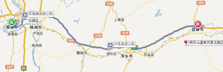 湘潭到明月山怎么走_湘潭到明月山交通指南