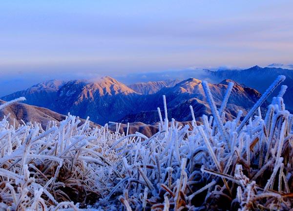 冬天的武功山