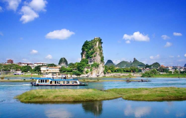 桂林十大名山水上游( 桂林市区水上游)是指哪桂林十大名山