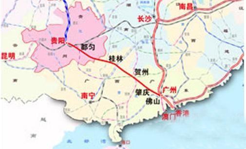 贵广铁路正式运营 沿途有哪些站点
