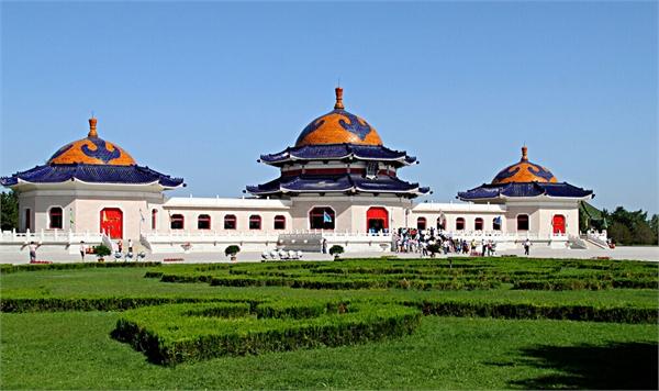 成吉思汗陵墓