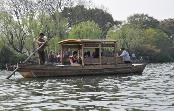 西湖游船码头_杭州西湖游