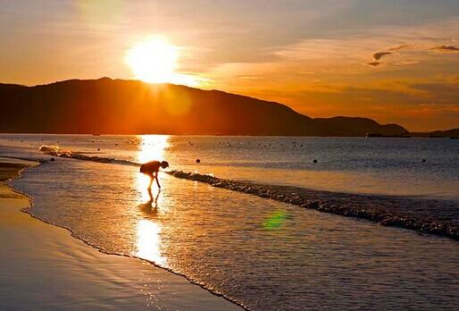 三亚亚龙湾沙滩