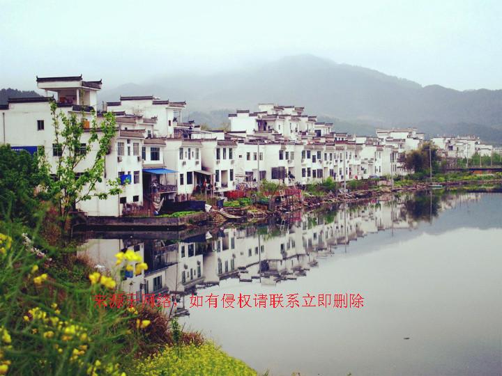 婺源江湾全景