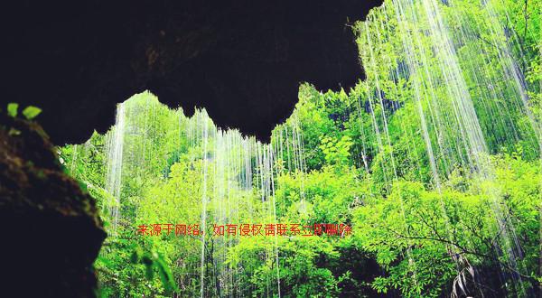 张家界大峡谷风景