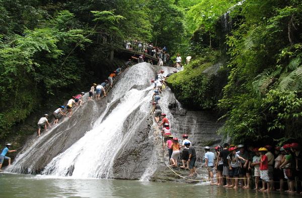 古东森林瀑布