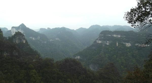 施秉云台山景色