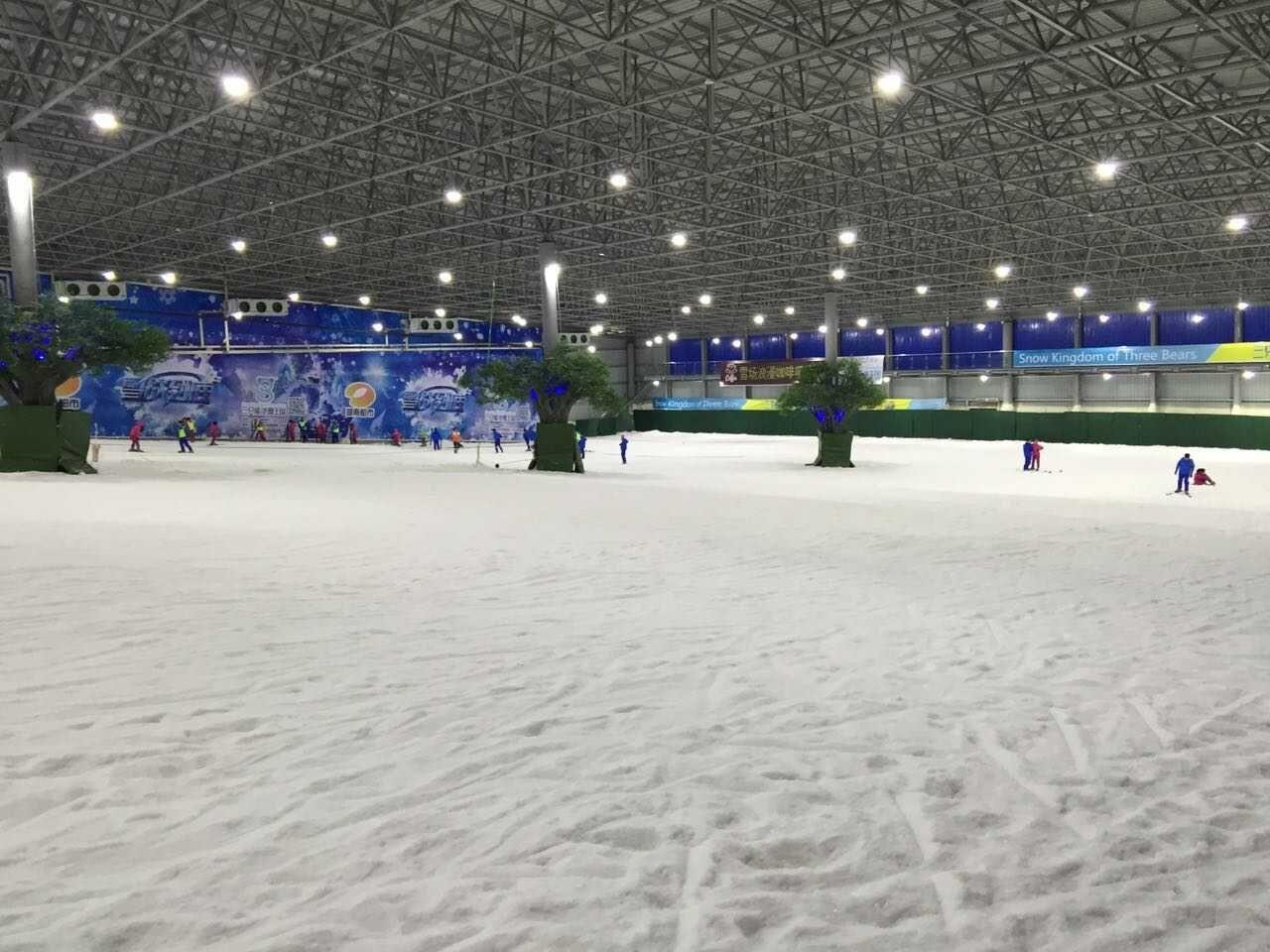 三只熊滑雪场门票团购多少钱?长沙三只熊冰雪世界/三只熊冰雪