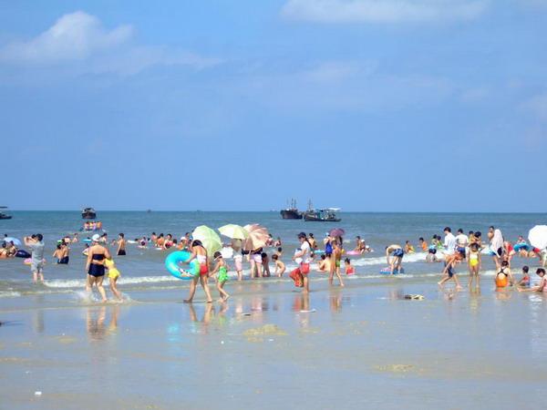 从长沙出发到北海银滩、冠头岭火车双卧双动5日游休闲旅游