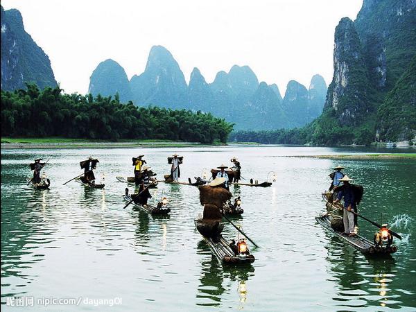 长沙到广西桂林、北海单卧单高五日游超值旅游