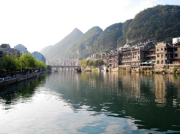 从株洲到贵州镇远古镇、舞阳河火车双卧三日游纯玩旅游