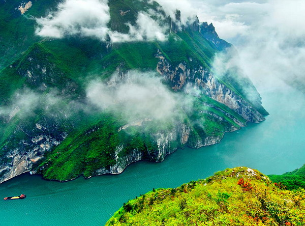 长沙到重庆、万州、三峡涉外游船、宜昌单飞高
