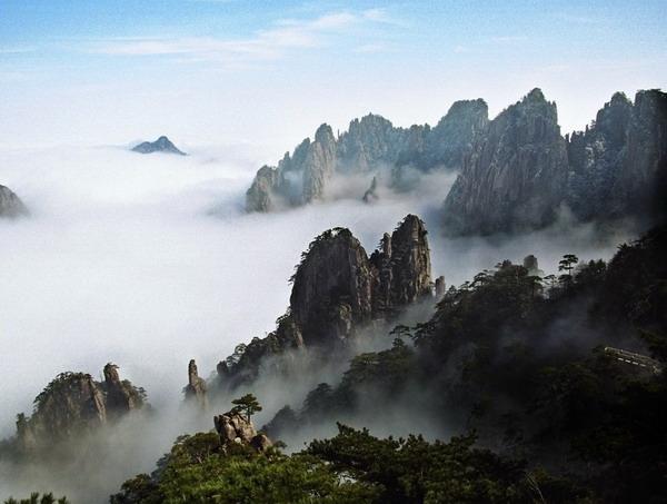 长沙到安徽黄山、西递、宏村火车双卧四日游旅游