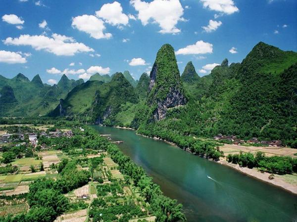 【自在桂林】长沙到桂林象鼻山、阳朔兴坪渔村
