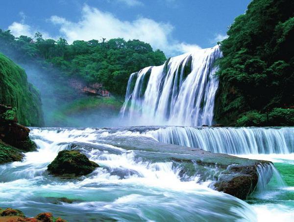 长沙/株洲到贵州遵义、黄果树瀑布、南江大峡谷火车纯玩5日游