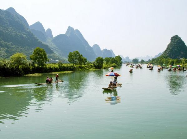 长沙到桂林旅游